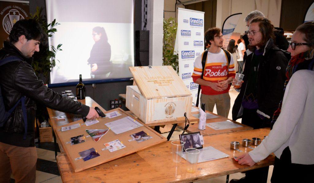1er prototype de La Ludi Flash Box en action autour de la bière de Saint-Avold.