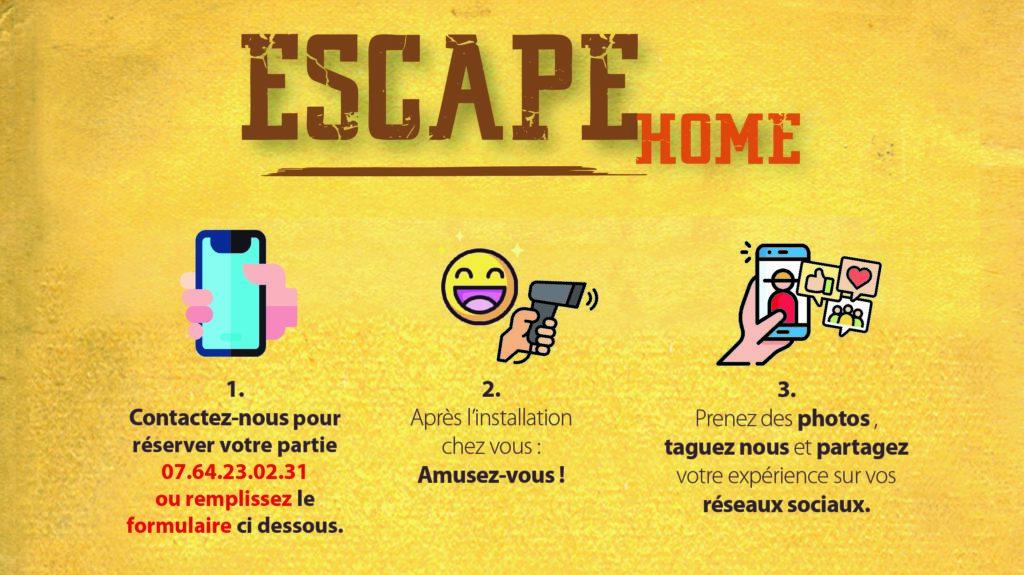 réserver l'escape home